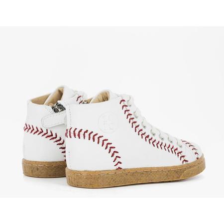KIDS 10 is ten baseball high tops - WHITE