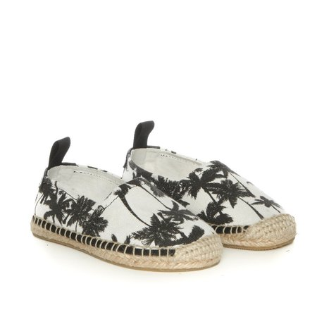 Kids Akid Elle Shoes - Black/White Palm