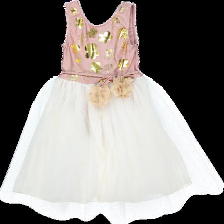 KIDS atsuyo et akiko le bouquet dress - rose