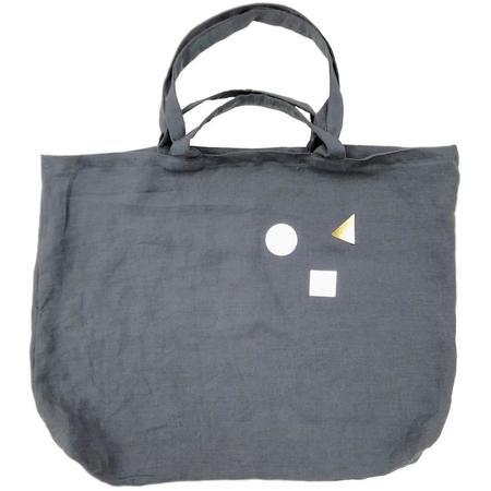 KIDS atsuyo et akiko unity linen bag - gray