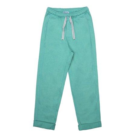 KIDS barn of monkeys front seams pants - gum green