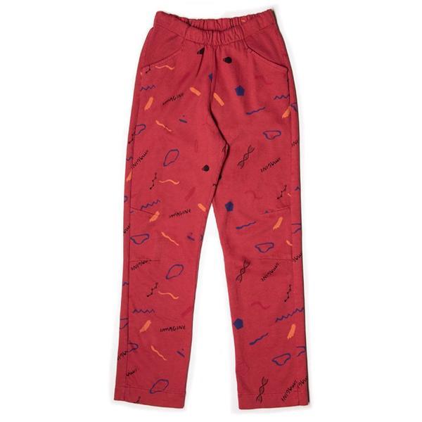 KIDS barn of monkeys imagine trousers - rouge