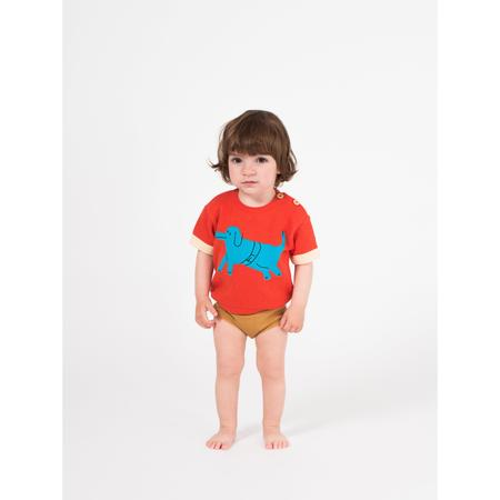 kids bobo choses baby palus dog jumper - red