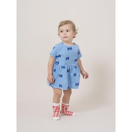 kids bobo choses clouds tee-dress - blue