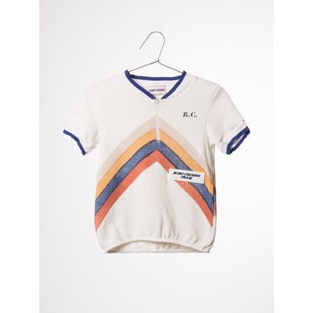 kids bobo choses gino track t-shirt - white