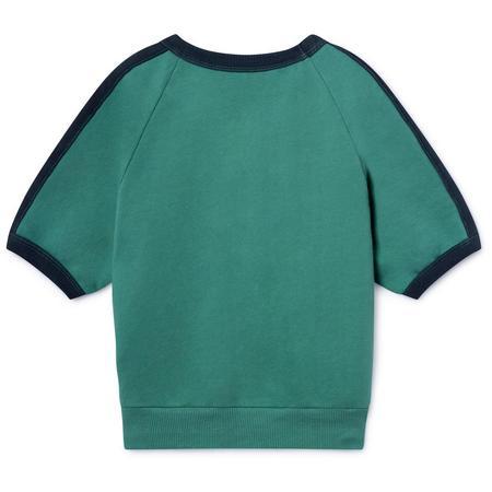 kids bobo choses pomme de terre 3/4 sleeve sweatshirt - green