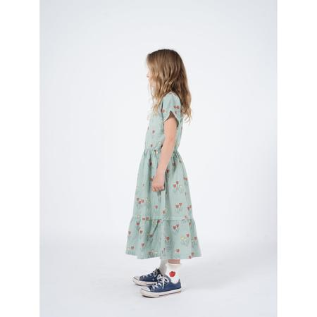 kids bobo choses poppy prairie princess dress - pale green
