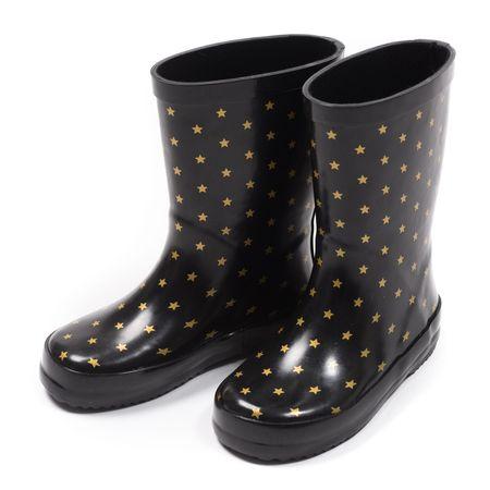 Kids Bonton Rain Boots - Black