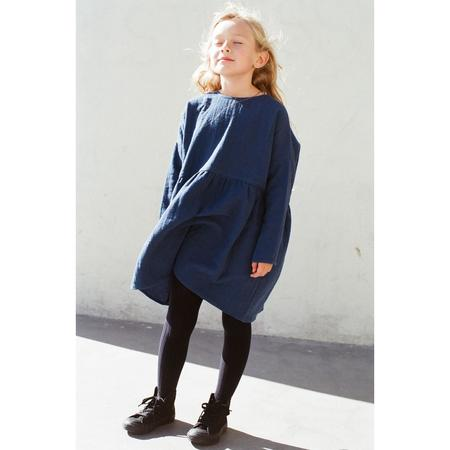 Kids Boy+Girl una dress - navy