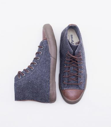 Men's Seavees Army Issue Sneaker High