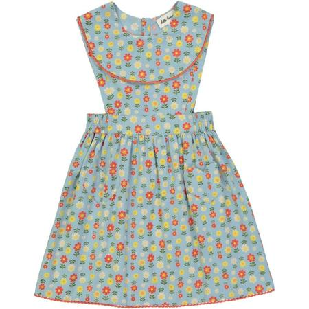 KIDS hello simone candide dress - jane blue