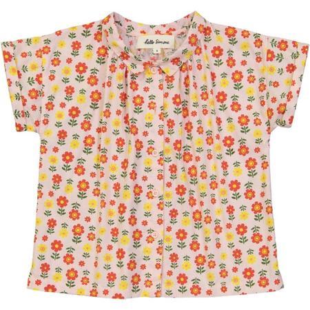 KIDS hello simone caro blouse - jane blush