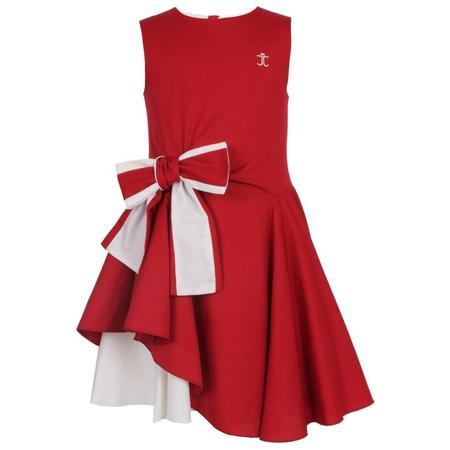 kids Jessie & James Lily dress - Royal Red