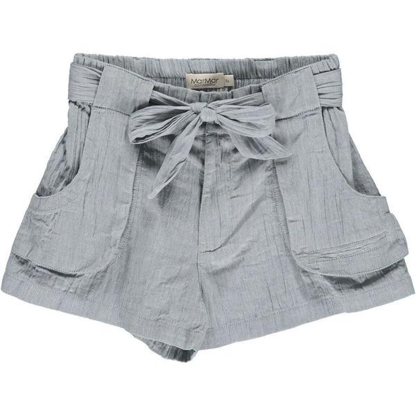 Kids Marmar Copenhagen Piga Shorts - Moondust Blue