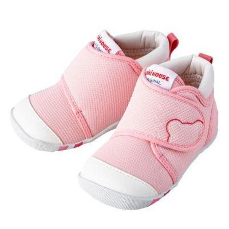 Kids Miki House My First Shoes - Pink