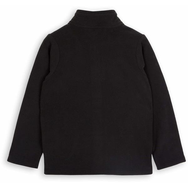 Kids Mini Rodini Fleece Jacket - Black