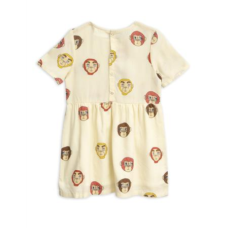 Kids Mini Rodini Monkey Woven Dress