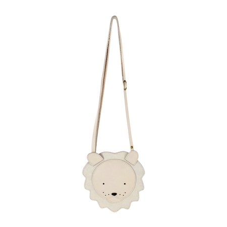Kids Donsje Britta Exclusive Purse - White Lion