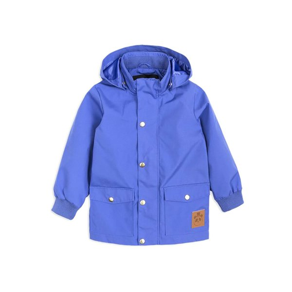 Kids Mini Rodini Pico Jacket - Blue