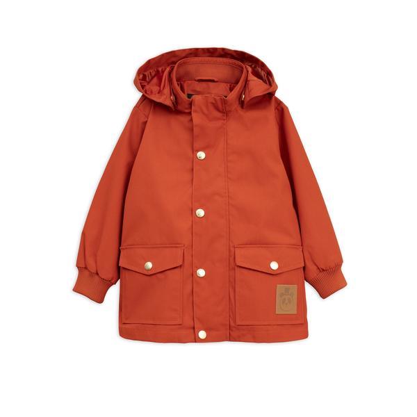 Kids Mini Rodini Pico Jacket - Red