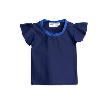 Kids Mini Rodini Wing Swim Top - Navy