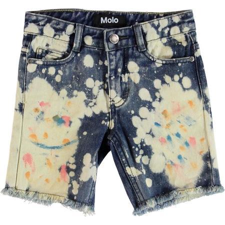 Kids Molo Alons Shorts - Paint Splat