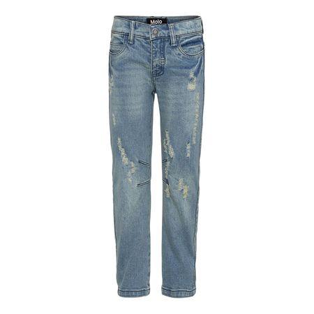 Kids Molo Alonso Woven Pants - Washed Denim