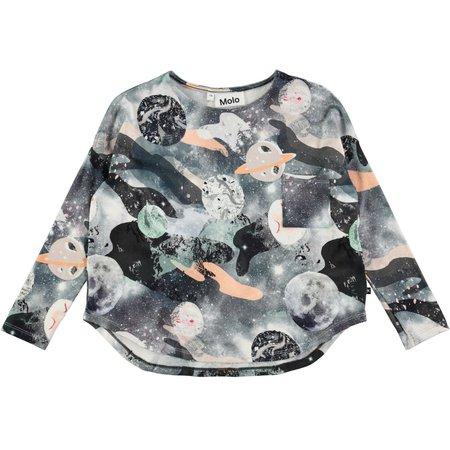 Kids Molo Eva T-shirt - Star Gazer