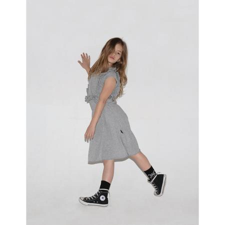 Kids Nununu Apron Dress - Heather Grey