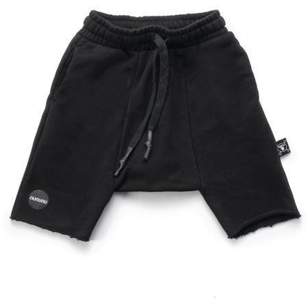 Kids Nununu Harem Shorts - Black
