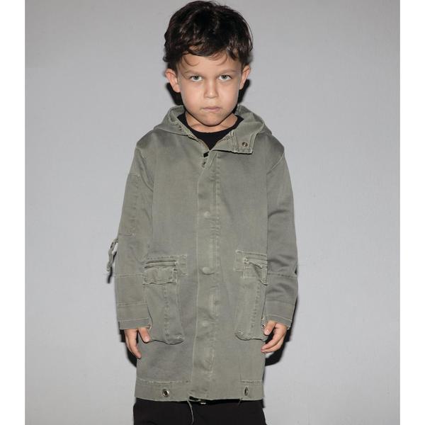 Kids Nununu Military Jacket - Olive