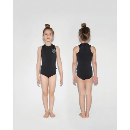 Kids Nununu Sleeveless Scuba Swimsuit - Black