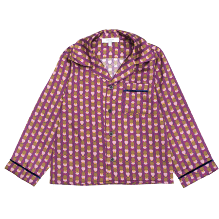 Kids paade mode blouse - lottie purple