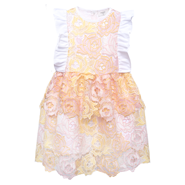 Kids paade mode lace queen dress - victoire