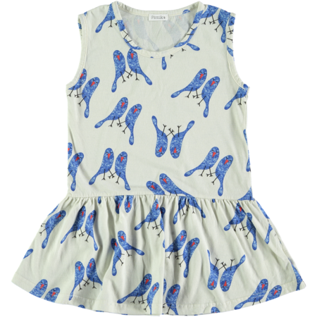 kids picnik olivia dress - birds