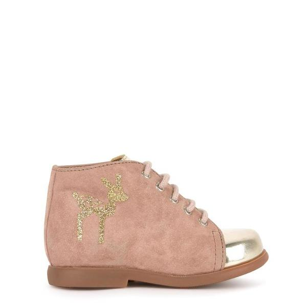 kids pom d'api nioupi fix derby - pink