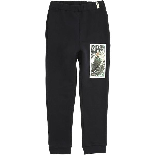unisex kids Popupshop sweat pants - navy/earth