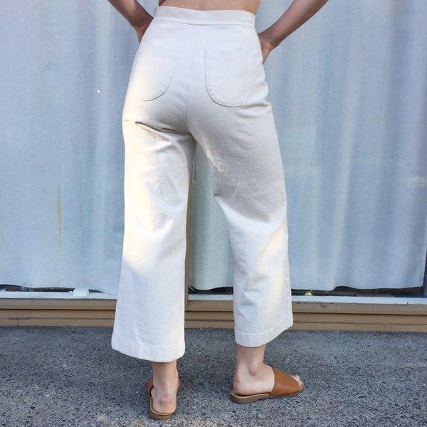 Laurs Kemp Button-Fly Paloma Pants - Daikon