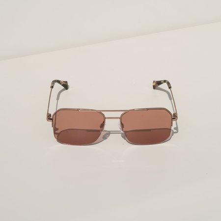 Raen Munroe Sunglasses - Rose Gold/Plum Wine