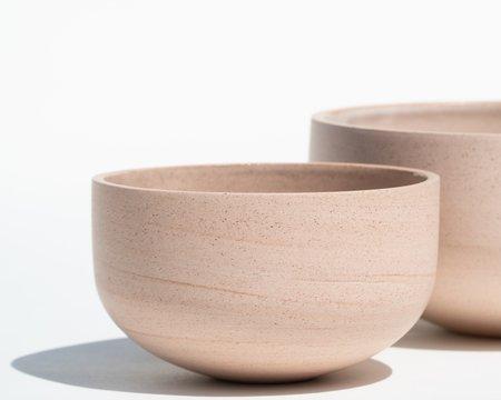 Luke Eastop Trio of Porcelain Bowls - Blush