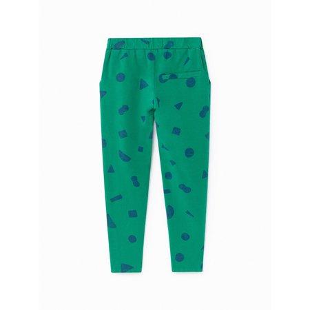Kids Bobo Choses All Over Stuff Track Pants - Green