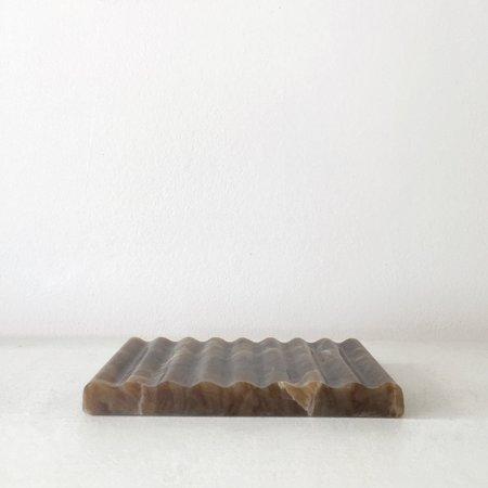 Binu Binu Soap Dish - Brown Onyx