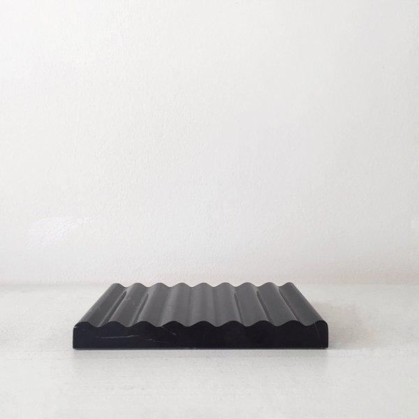 Binu Binu Soap Dish - Nero Marble