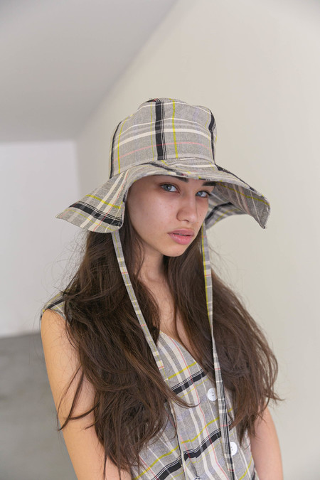 NIKKI CHASIN SONATA BUCKET HAT - CANDY PLAID