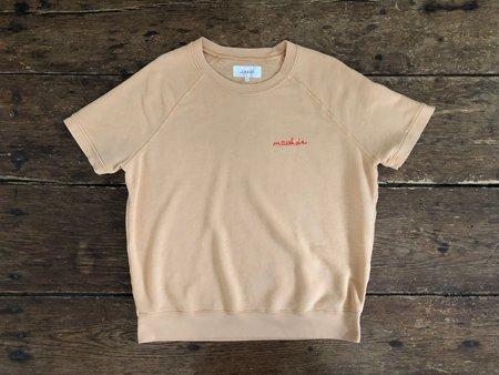 Vintage Preloved Masshole Sweatshirt - Tangerine