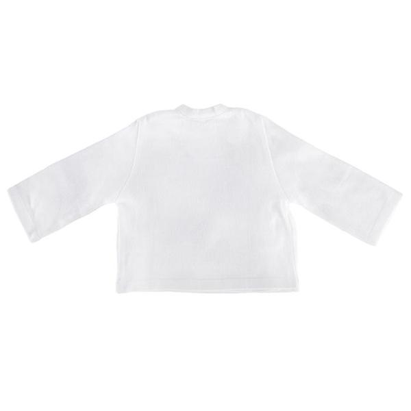 KIDS Pequeno Tocon Baby Kimono Close Jacket - White