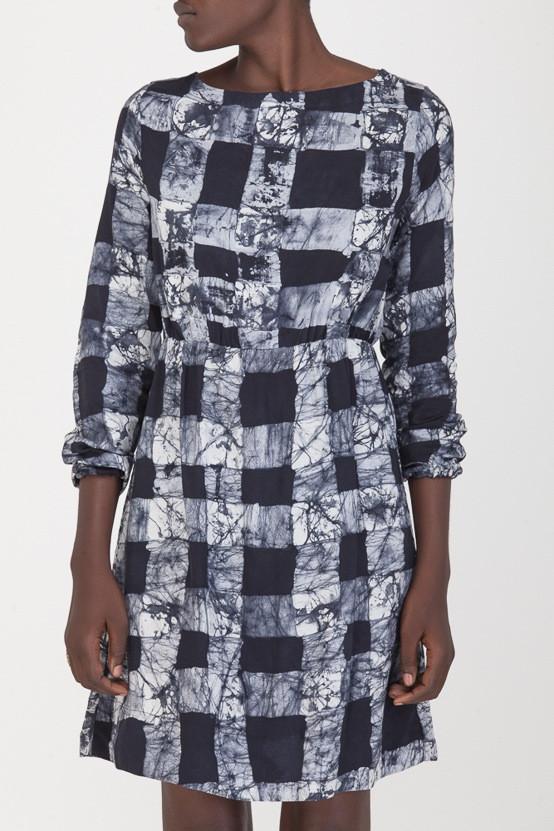 Osei-Duro Gingham Aburi Dress