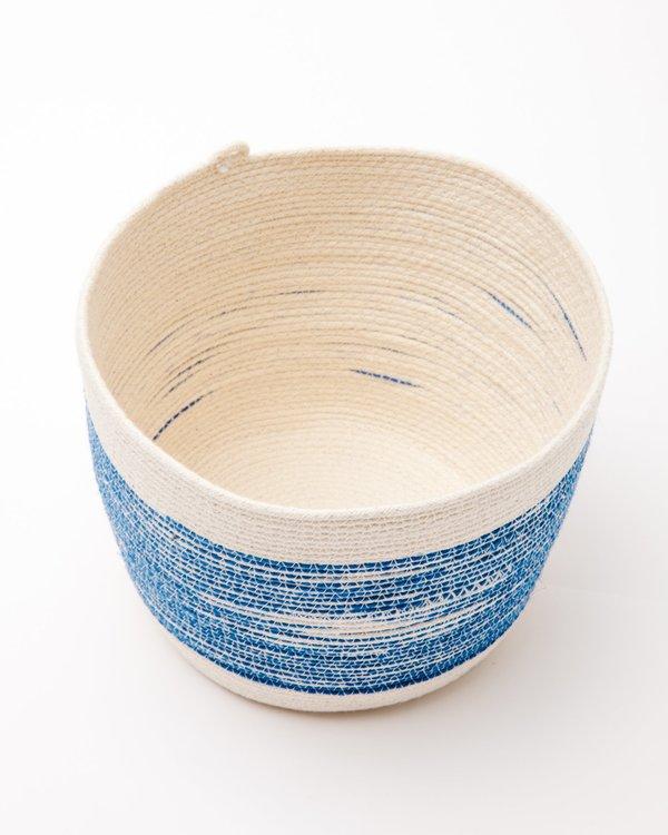 MOkun Medium Bucket - Blue/Natural