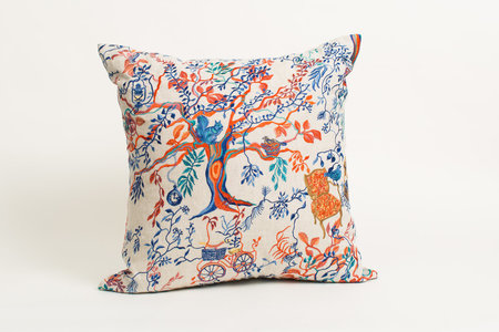 Olivia Wendel Wonderland Afternoon Linen Pillow