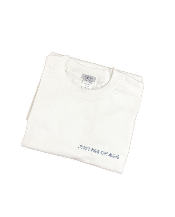 Unisex House of 950 find me on aim tee shirt